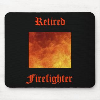 Retired Firefighter Mousepad