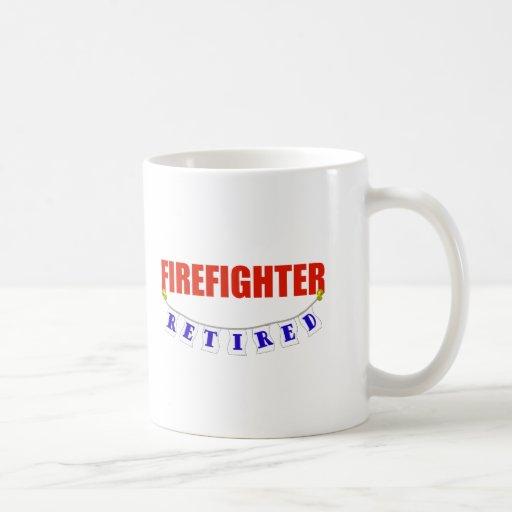 RETIRED FIREFIGHTER MUG