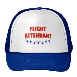 RETIRED FLIGHT ATTENDANT HATS