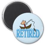 Retired Fridge Magnet