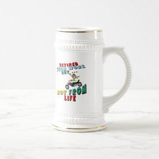 Retired From Work Coffee Mugs