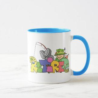 Retired Gone Fishing Mug