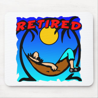 Retired Hammock Mouse Mat