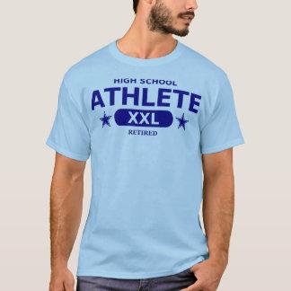 Retired High School Athlete - NAVY T-Shirt