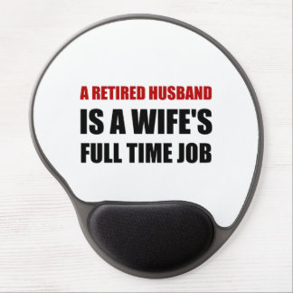 Retired Husband Gel Mouse Pad