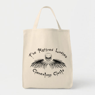 Retired Ladies Genealogy Guild Tote Bag