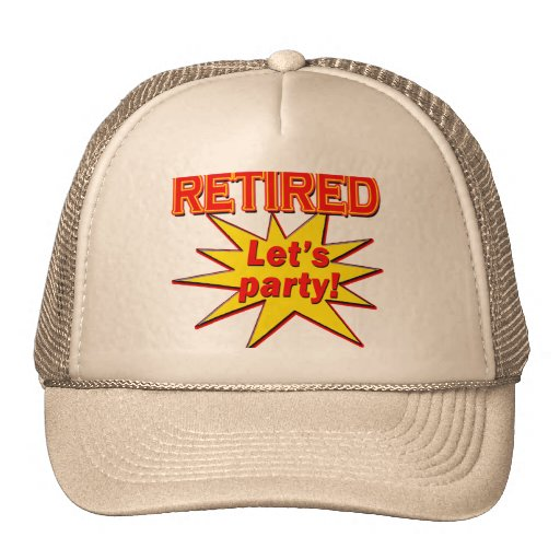 RETIRED - LET'S PARTY Tshirts and gifts Hat