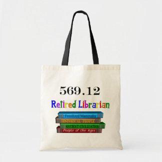 Retired Librarian 569 0 Dewey Decimal System Bag