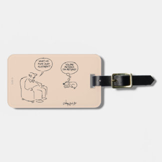 Retired Luggage Tag