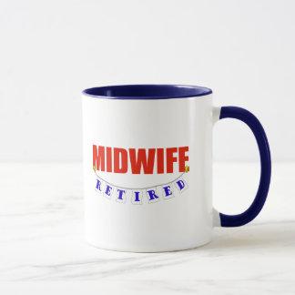 RETIRED MIDWIFE MUG