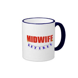 RETIRED MIDWIFE RINGER MUG