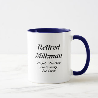 Retired Milkman Mug