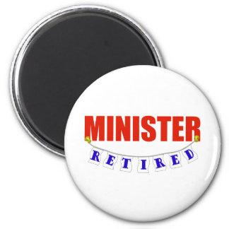 RETIRED MINISTER MAGNET