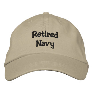 Retired Navy Hat