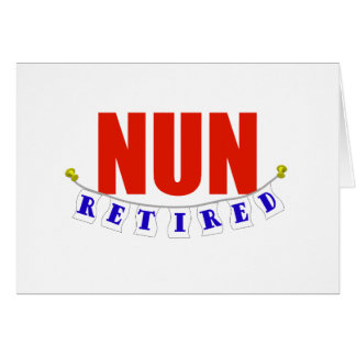 RETIRED NUN CARDS