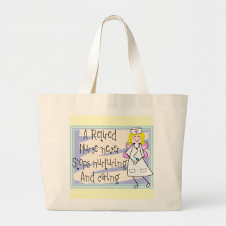Retired Nurse Angel Art Cards & Gifts Bags