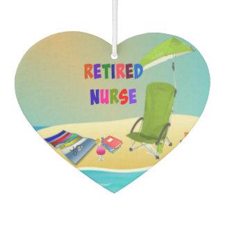 Retired Nurse, Fun in the Sun Car Air Freshener