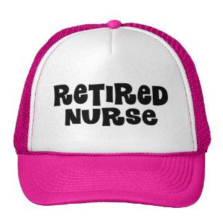 Retired Nurse Gift Mesh Hat