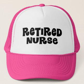 Retired Nurse Gift Trucker Hat