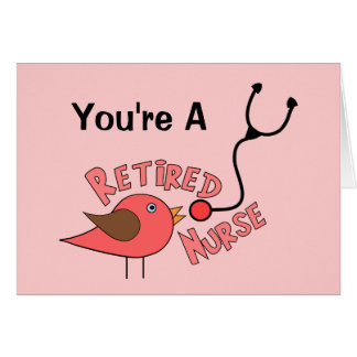 Retired Nurse Gifts Cards