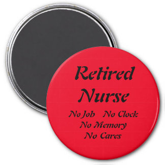 Retired Nurse Magnet