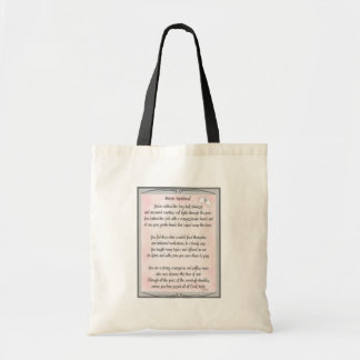 Retired Nurse Poem gifts by ~~Gail Gabel, RN Tote Bag