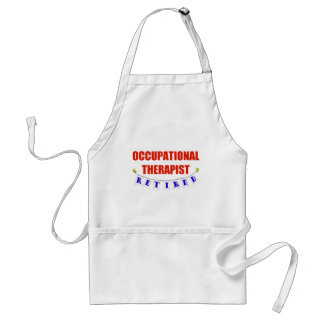 Retired Occupational Therapist Apron