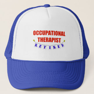 Retired Occupational Therapist Trucker Hat