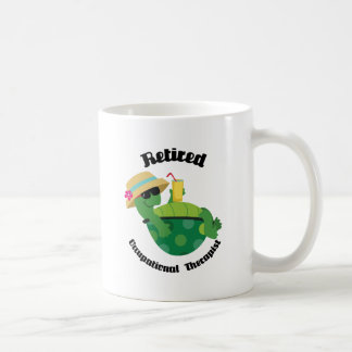 Retired Occupational Therapist (Turtle) Basic White Mug