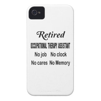 Retired Occupational Therapy Assistant No job No c iPhone 4 Cover