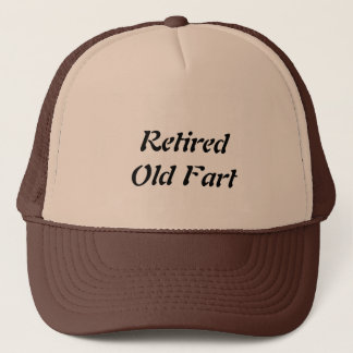 Retired Old Fart Trucker Hat