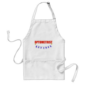 RETIRED OPTOMETRIST STANDARD APRON