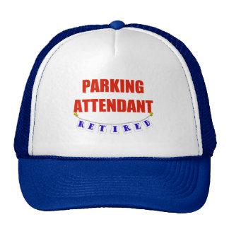 RETIRED PARKING ATTENDANT HATS