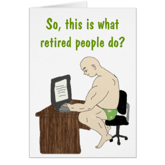 Retired people Card