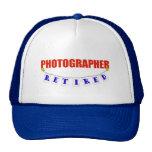 RETIRED PHOTOGRAPHER MESH HATS
