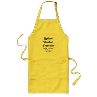 Retired Physical Therapist Long Apron