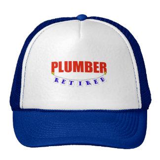 RETIRED PLUMBER CAP
