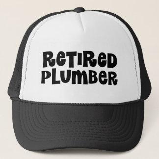 Retired Plumber Gift Trucker Hat