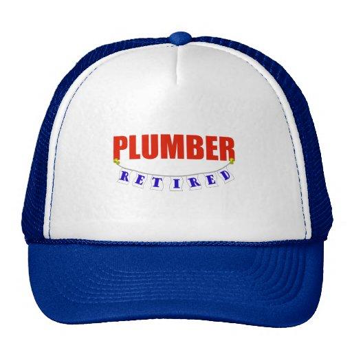 RETIRED PLUMBER HAT