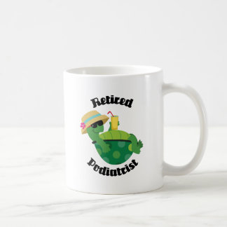 Retired Podiatrist (Turtle) Coffee Mug