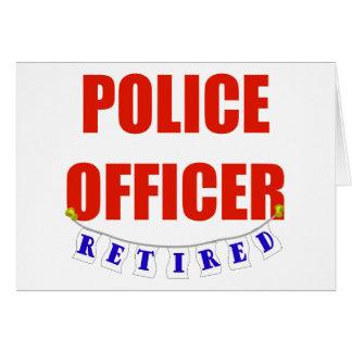 RETIRED POLICE OFFICER CARD