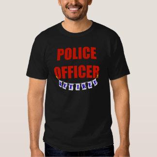 RETIRED POLICE OFFICER TSHIRT
