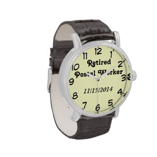 Retired Postal Worker Watches