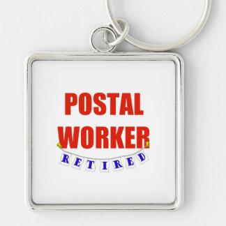 RETIRED POSTAL WORKER KEY RING