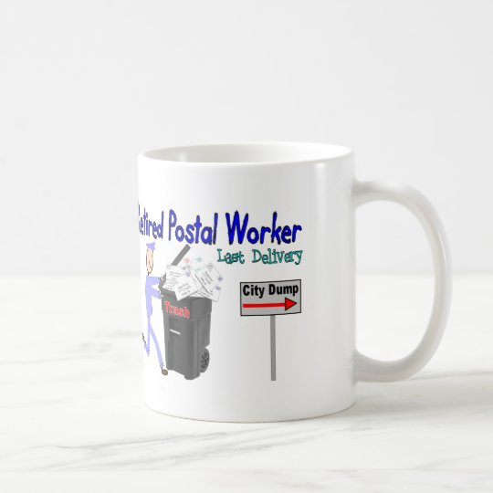 Retired Postal Worker Last Delivery Coffee Mug