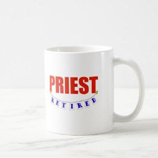 RETIRED PRIEST COFFEE MUG