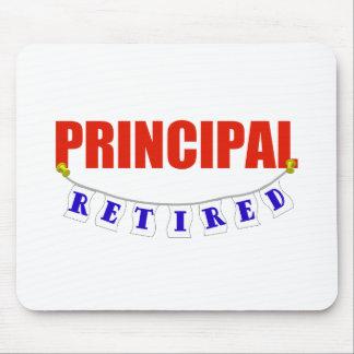 RETIRED PRINCIPAL MOUSE PAD