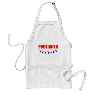 RETIRED PUBLISHER STANDARD APRON