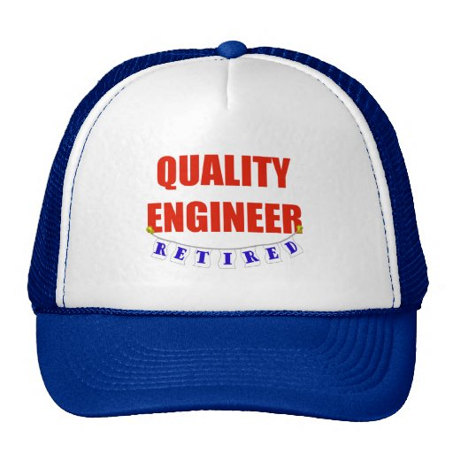 RETIRED QUALITY ENGINEER MESH HAT