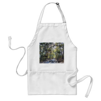 Retired,Road trip, Camping, BBQ, Fishing,What a l Standard Apron